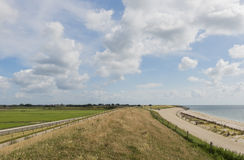 At Wadden Sea. Great at the Wadden Sea near the village of Oudeschild on the isle of Texel royalty free stock image