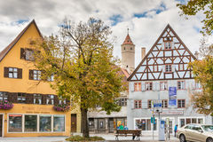 Dikelsbuehl历史的老镇  免版税库存照片