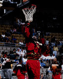 Dikembe Mutumbo, falcões de Atlanta Fotografia de Stock Royalty Free