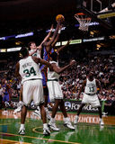 Dikembe Mutumbo, New York Knicks Arkivfoto