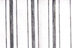 Dikke en dunne stoffenstrepen Stock Afbeelding