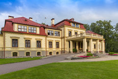 Dikli palace exterior in Latvia Royalty Free Stock Photography