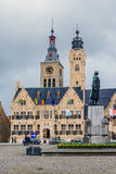 Diksmuide, Belgium. Royalty Free Stock Photography