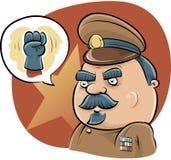 Diktator Fist royaltyfri illustrationer