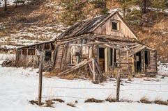 Dilapidado a casa Fotografía de archivo libre de regalías