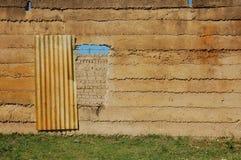 dilapidated вход Стоковое Изображение RF