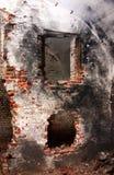 dilapidated интерьер Стоковое Фото