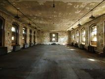 dilapidated комната Стоковые Изображения RF