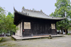 Dilapidated ancient Chinese wood-structural building Royalty Free Stock Photography