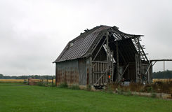 Dilapidated Barn Stock Images