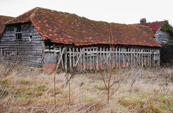 Dilapidated Barn Royalty Free Stock Photography