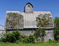 Dilapidated Barn Stock Photo