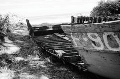 Dilapidated boat Royalty Free Stock Photos
