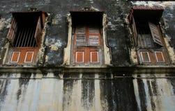 Dilapidated bouw royalty-vrije stock afbeelding
