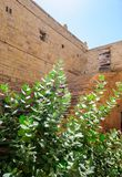 Dilapidated and broken house inside Golden Fort of Jaisalmer, Ra Stock Photo