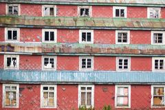 Dilapidated building Royalty Free Stock Photography