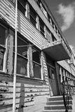 Dilapidated Building on Mare Island Stock Photo