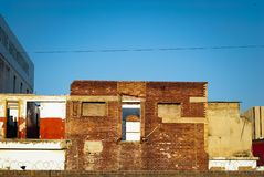 Free Dilapidated Building With Red Walls Royalty Free Stock Image - 126146286