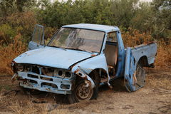 Dilapidated car Royalty Free Stock Photos