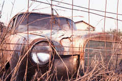 Dilapidated car Stock Image
