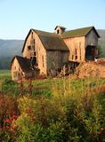 Dilapidated Catskills Barn Royalty Free Stock Photo