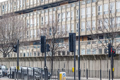 Dilapidated council flat housing block, Robin Hood Gardens. In East London Stock Photography