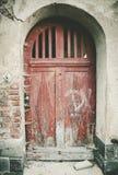 Dilapidated door Stock Photos