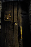 Dilapidated door Royalty Free Stock Image