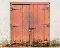 Dilapidated doors Royalty Free Stock Images