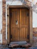 Dilapidated Doorway Stock Photo