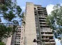 Dilapidated gebouwen Stock Afbeeldingen