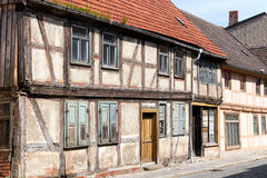 Dilapidated half-timbered house Royalty Free Stock Photography