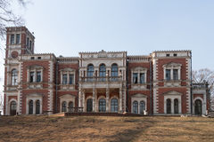 Dilapidated hoeve van Rusland Royalty-vrije Stock Fotografie