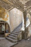 Dilapidated hospital. Lost Place, Eleousa, Rhodes Royalty Free Stock Photos