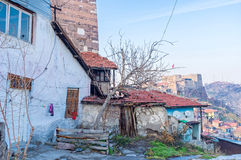The dilapidated house Royalty Free Stock Photography