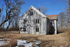 Dilapidated house Stock Photography
