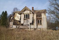 Dilapidated houses. Stock Image