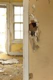 Dilapidated huis Stock Afbeeldingen