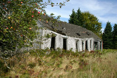 Dilapidated hus Royaltyfria Foton