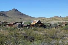 Dilapidated landbouwbedrijf, New Mexico Stock Fotografie
