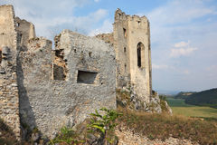 Dilapidated medieval fortress Royalty Free Stock Image