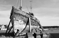 Dilapidated old boat Royalty Free Stock Photo