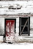Dilapidated old farm house Stock Photography