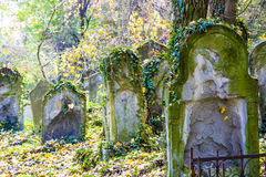 Dilapidated old graves Royalty Free Stock Photo