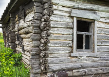 Dilapidated old wooden rustic house Royalty Free Stock Photo