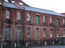 Dilapidated Pakhuis Stock Afbeeldingen