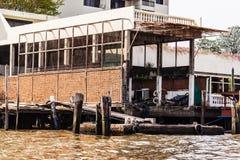 Dilapidated pier Stock Photos