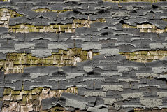 Dilapidated Roof Stock Image