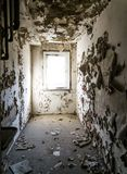 Dilapidated room Stock Photography