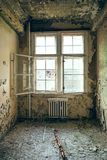 Dilapidated rooms Stock Photo